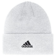 adidas Team Cuffed Knit Beanie - Mens / White