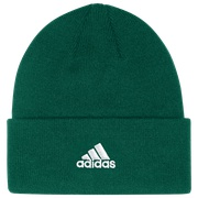 adidas Team Cuffed Knit Beanie - Mens / Dark Green