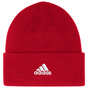 adidas Team Cuffed Knit Beanie - Mens / Power Red