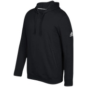 adidas Team Fleece Hoodie - Mens / Black/White