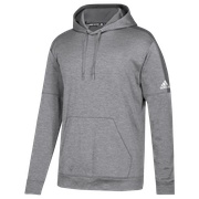 adidas Team Issue Fleece Pullover Hoodie - Mens / Grey Two/White