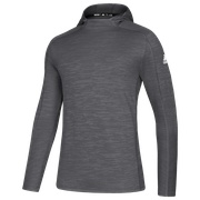 adidas Team Game Mode Training Hood Top - Mens / Grey Five Melange