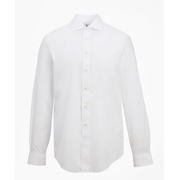 Brooksbrothers Madison Classic-Fit Dress Shirt, Performance Non-Iron with COOLMAX, English Spread Collar Broadcloth