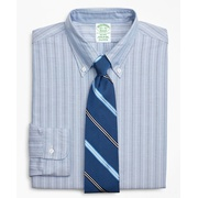 Brooksbrothers Original Polo Button-Down Oxford Milano Slim-Fit Dress Shirt, Stripe