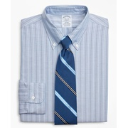 Brooksbrothers Original Polo Button-Down Oxford Regent Fitted Dress Shirt, Stripe