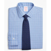 Brooksbrothers Traditional Relaxed-Fit Dress Shirt, Non-Iron Glen Plaid