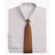 Brooksbrothers Regent Fitted Dress Shirt, Non-Iron Stripe