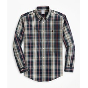 Brooksbrothers Non-Iron Regent Fit Multi-Plaid Sport Shirt