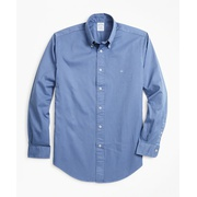 Brooksbrothers Regent Fit Garment-Dyed Twill Sport Shirt