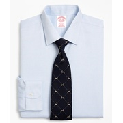 Brooksbrothers Madison Classic-Fit Dress Shirt, Non-Iron Micro-Check
