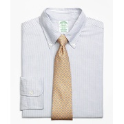 Brooksbrothers Original Polo Button-Down Oxford Milano Slim-Fit Dress Shirt, Bengal Stripe