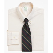 Brooksbrothers Milano Slim-Fit Dress Shirt, Non-Iron Button-Down Collar