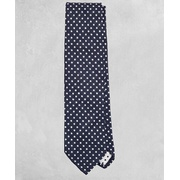 Brooksbrothers Golden Fleece Dotted Wool-Silk Tie
