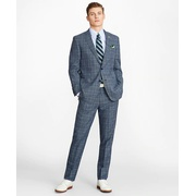 Brooksbrothers Regent Fit Combo Check 1818 Suit