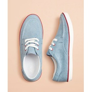 Brooksbrothers Canvas Boat Sneakers