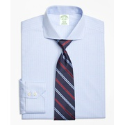Brooksbrothers Milano Slim-Fit Dress Shirt, Non-Iron Framed Tattersall