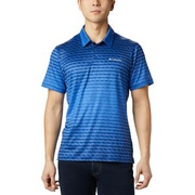 Columbia Tech Trail Print Polo Shirt - Mens