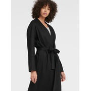 DKNY LONG-LINE OPEN-FRONT CARDIGAN