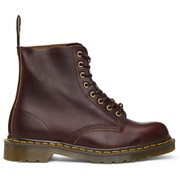 Dr. Martens Burgundy 'Made In England' 1460 Lace-Up Boots