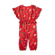 Janie and Jack Floral Ruffle Jumpsuit