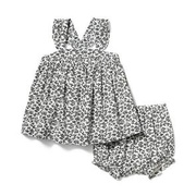 Janie and Jack Baby Ditsy Floral Matching Set