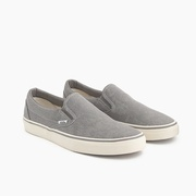 Jcrew Vans for J.Crew washed canvas classic slip-on sneakers