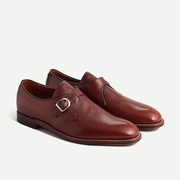 Jcrew Alden for J.Crew monk-strap dress shoes in leather