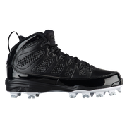 Jordan Retro IX MCS - Mens / Black/White/White/Metallic Silver