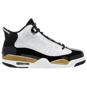 Jordan Dub Zero - Mens / Black/White/Metallic Gold