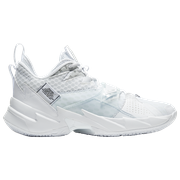 Jordan Why Not Zer0.3 - Mens / White/Metallic Silver/Black