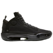 Jordan AJ XXXIV - Mens / Black/Dark Smoke Grey/Electric Green
