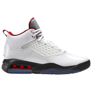 Jordan Maxin 200 - Mens / White/Gym Red/Black/Reflect Silver