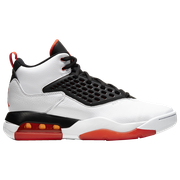 Jordan Maxin 200 - Mens / White/Team Orange/Black