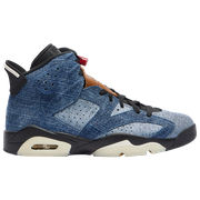 Jordan Retro 6 - Mens / Washed Denim/Black/Sail