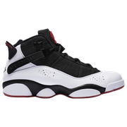 Jordan 6 Rings - Mens / Black/White/Gym Red