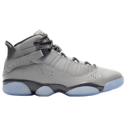 Jordan 6 Rings - Mens / Metallic Silver/Light Graphite/White