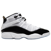 Jordan 6 Rings - Mens / White/Black/Metallic Gold
