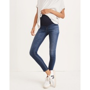 Madewell Maternity Over-the-Belly Skinny Jeans in Danny Wash: TENCEL Denim Edition