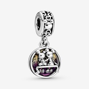 Disney Mickey Mouse & Minnie Mouse Happily Ever After Dangle Charm | Silver | Pandora US
