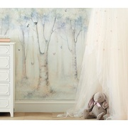Potterybarn Monique Lhuillier Ethereal Peel & Stick Wall Mural