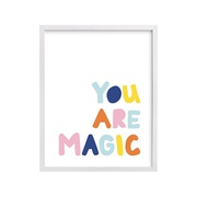 Potterybarn west elm x pbk You Are Magic Wall Art by Minted