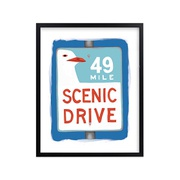 Potterybarn Scenic Drive Wall Art by Minted