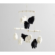 Potterybarn west elm x pbk Felted Sheep Mobile