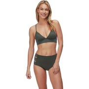 Seafolly Quilted Fixed Tri Bikini Top - Womens