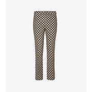 Tory Burch Printed Twill Crepe Pant