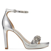 NINEWEST Engaged Heeled Ankle Strap Sandals